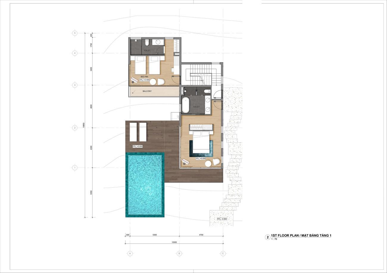 Thiết kế dự án biệt thự nghỉ dưỡng chung cư Casa Marina Premium phuong ghenh rang Đường Quốc Lộ 1D chủ đầu tư BCG Land Group