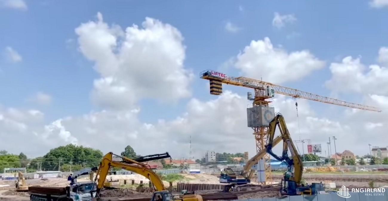 Tiến độ dự án căn hộ chung cư Astral City Thuận An tháng 06/2021 Đường Quốc lộ 13 chủ đầu tư Phát Đạt Group