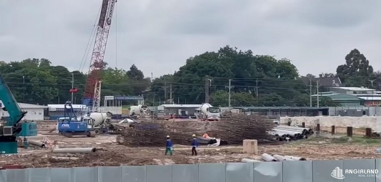 Tiến độ dự án căn hộ chung cư Astral City Thuận An tháng 05/2021 Đường Quốc lộ 13 chủ đầu tư Phát Đạt Group