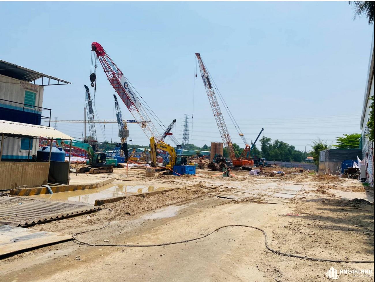 Tiến độ dự án căn hộ chung cư Astral City Thuận An tháng 04/2021 Đường Quốc lộ 13 chủ đầu tư Phát Đạt Group