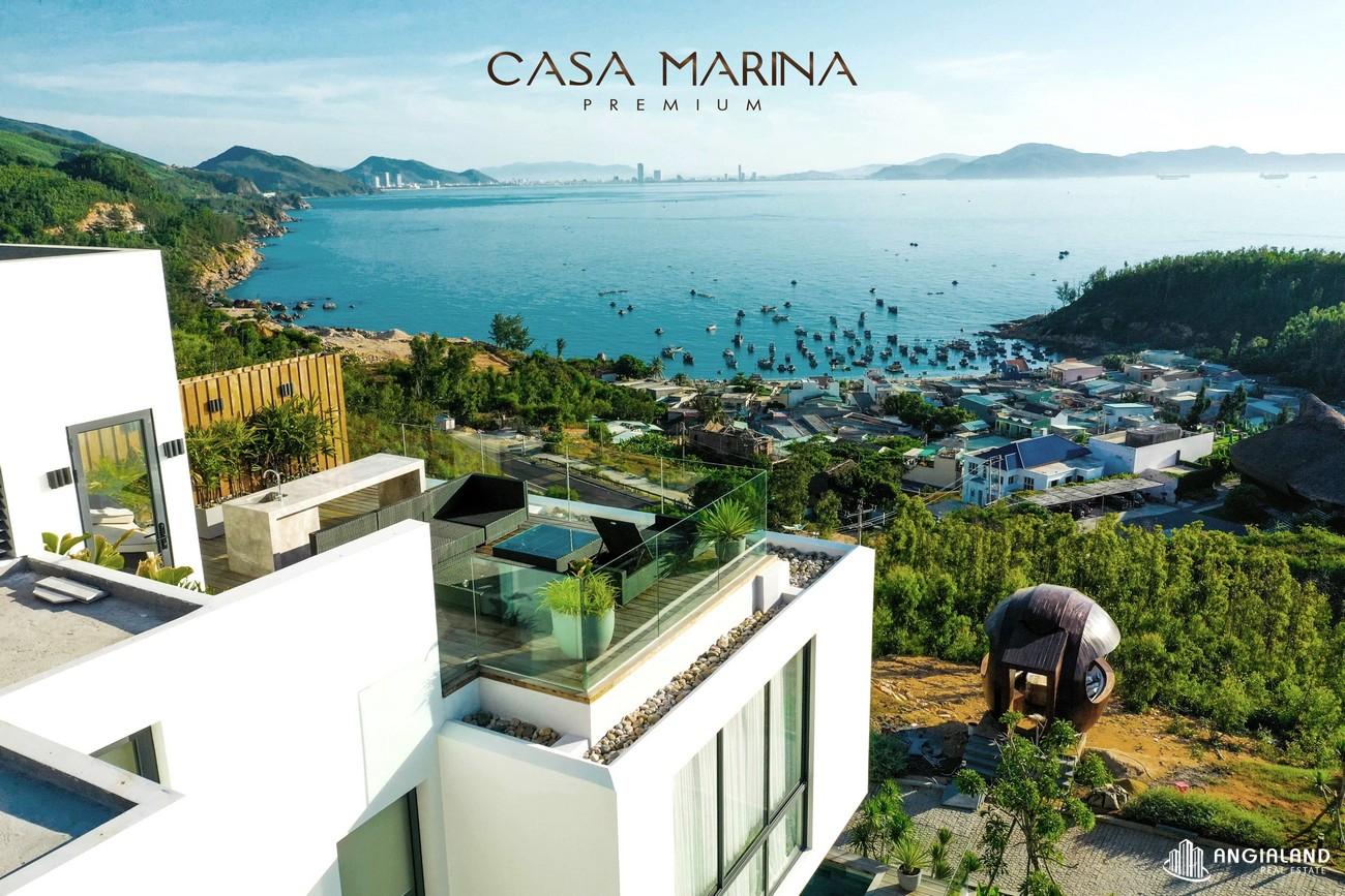 Tiến độ dự án biệt thự nghỉ dưỡng chung cư Casa Marina Premium phuong ghenh rang Đường Quốc Lộ 1D chủ đầu tư BCG Land Group