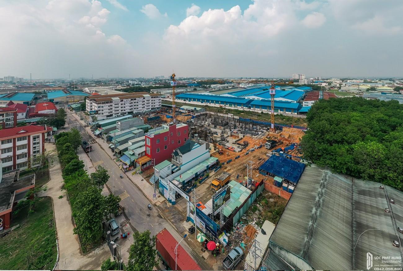 Tiến độ dự án căn hộ chung cư Legacy Central Thuận An Bình Dương chủ đầu tư Kim Oanh Group