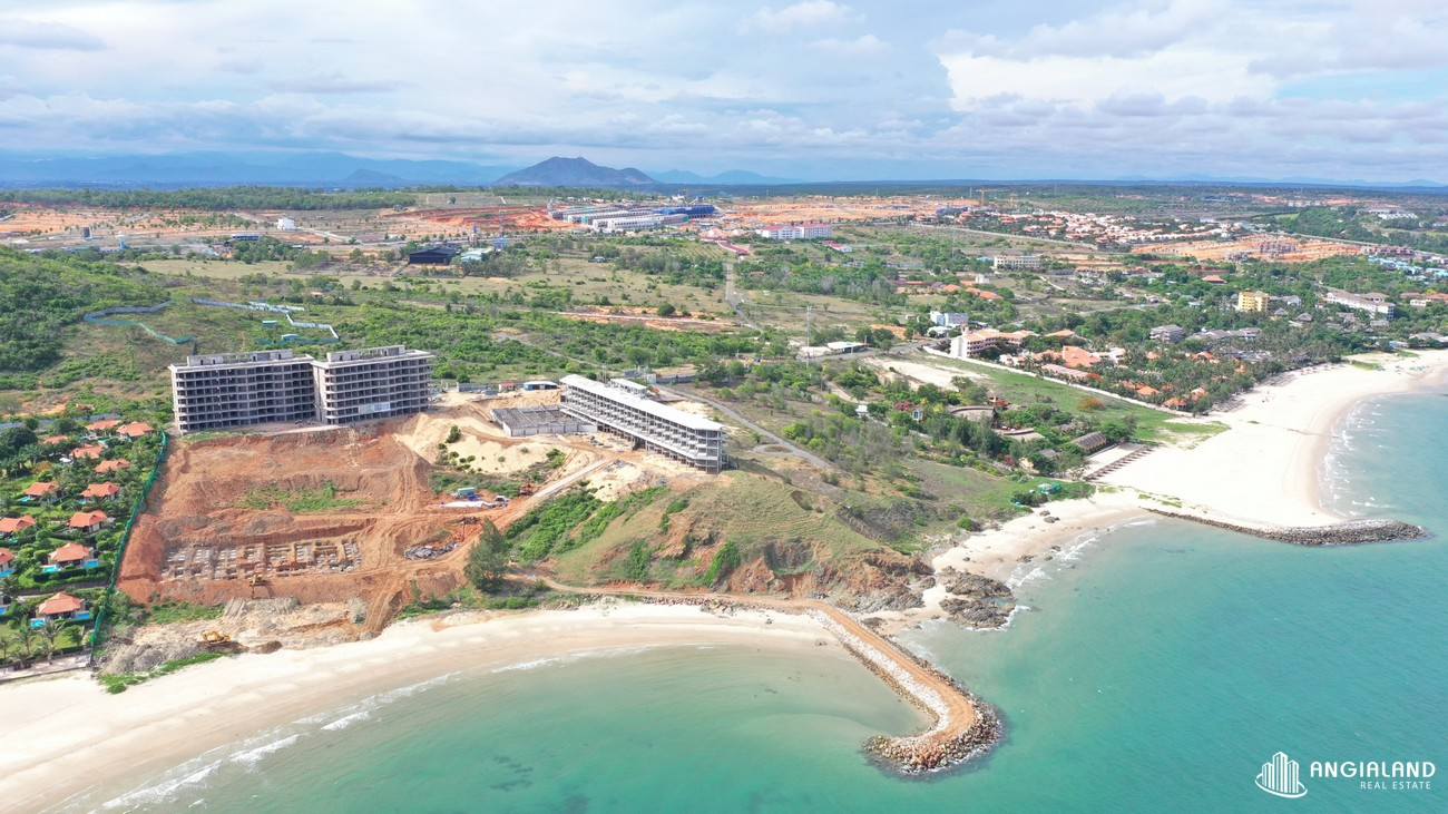Tiến độ dự án căn hộ nghỉ dưỡng chung cư Grand Mercure Phan Thiết