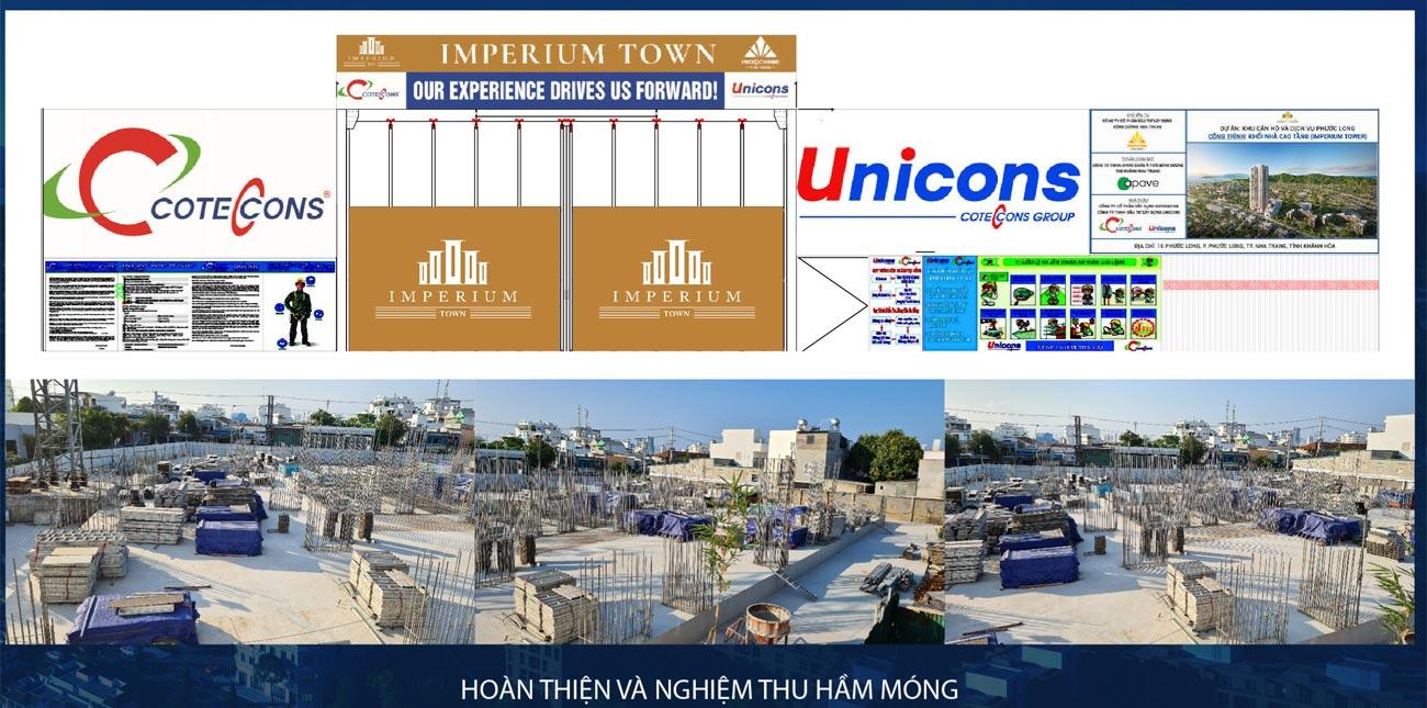 Tiến độ dự án căn hộ chung cư Imperium Town Nha Trang 06/20201