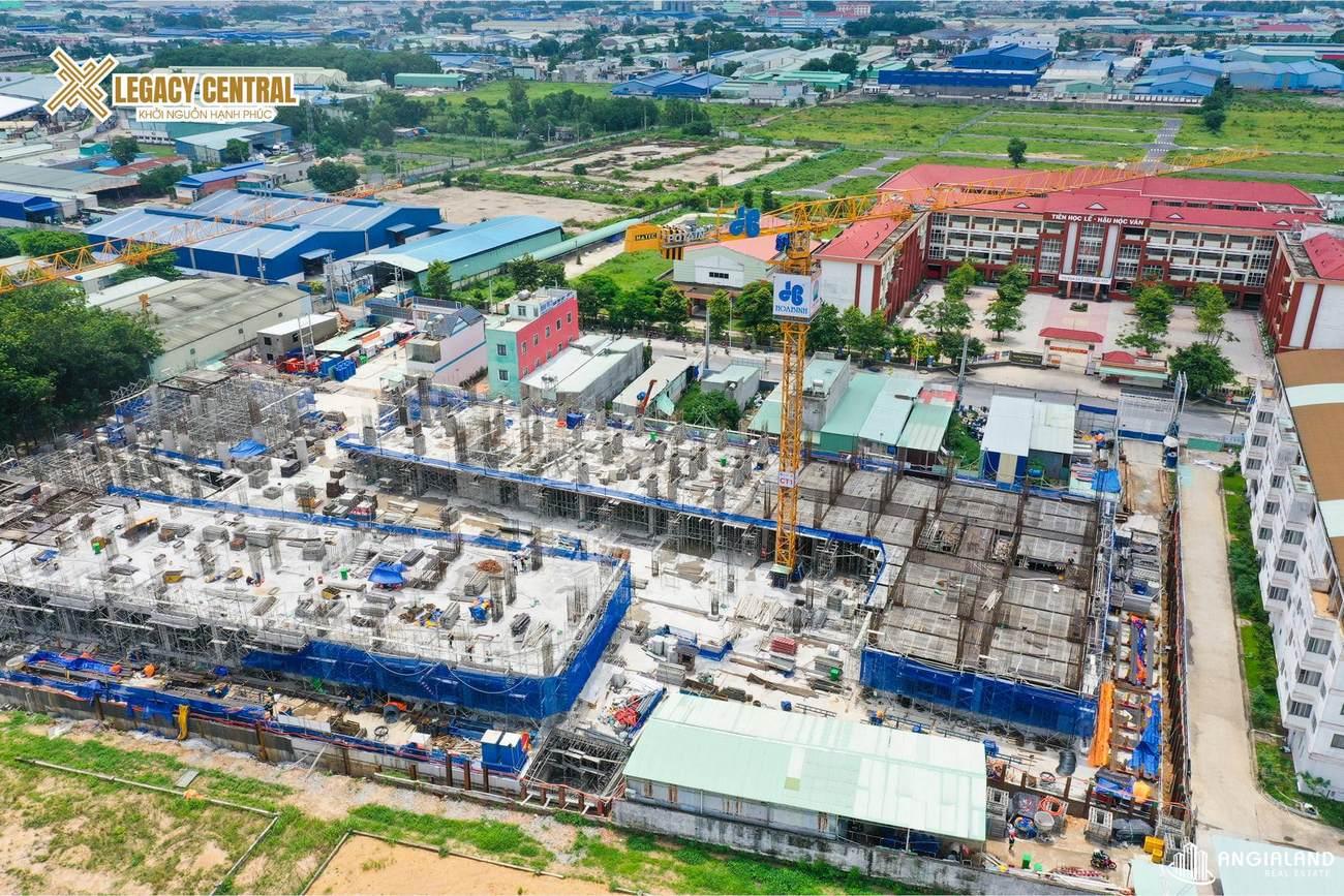 Tiến độ Legacy Central Kim Oanh tháng 07/2021