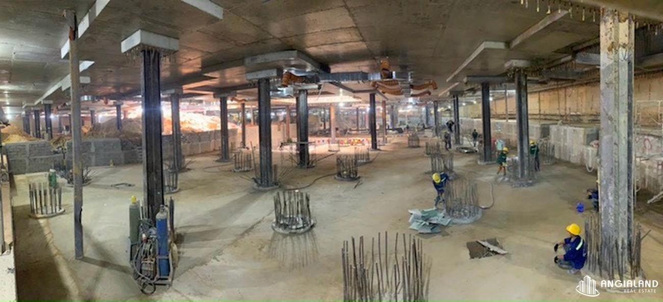 Tiến độ xây dựng dự án Grand Manhattan Quận 1 tháng 03/2021