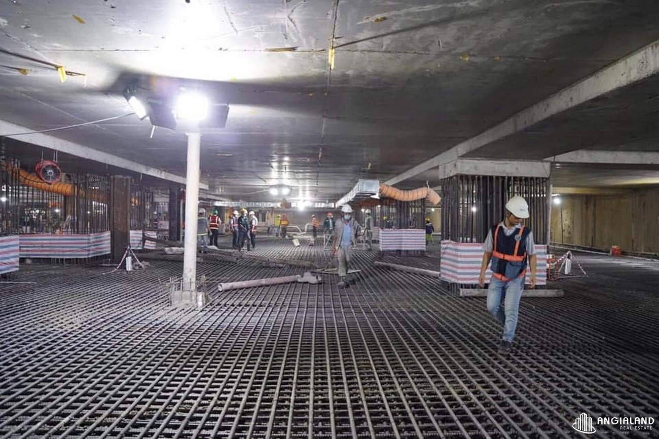 """Tiến độ xây dựng dự án Grand Manhattan Quận 1 tháng 05/2021 - """"Làm việc khi người khác còn đang ngủ. Học hỏi khi họ đang tiệc tùng"""", tất cả không gì khác ngoài mục đích: Thành công của dự án, thành công của khách hàng."""