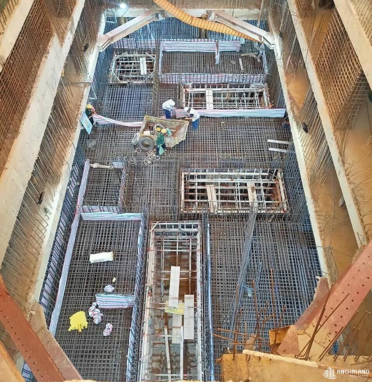 Tiến độ xây dựng dự án Grand Manhattan Quận 1 tháng 05/2021