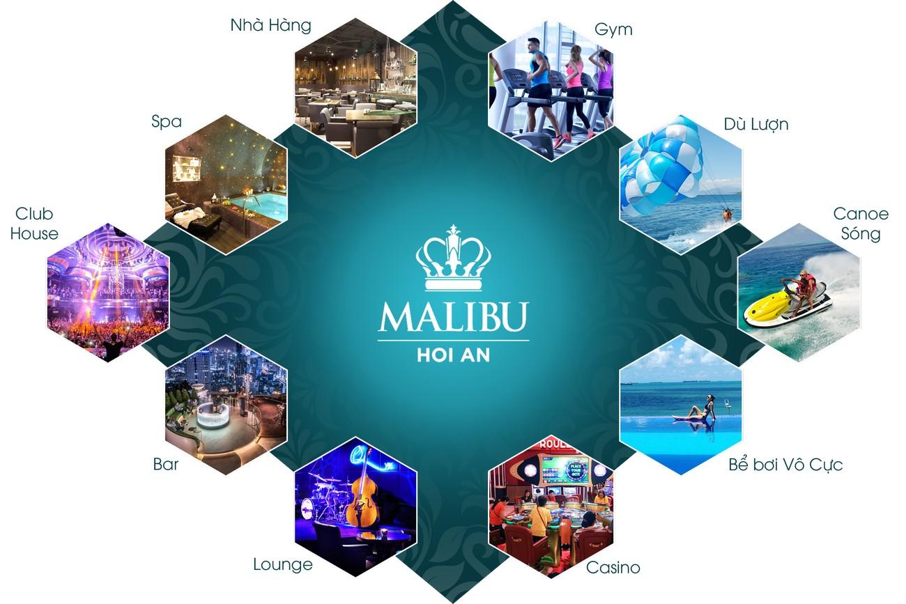 Tiện ích dự án Malibu Resort & Villas Hội An