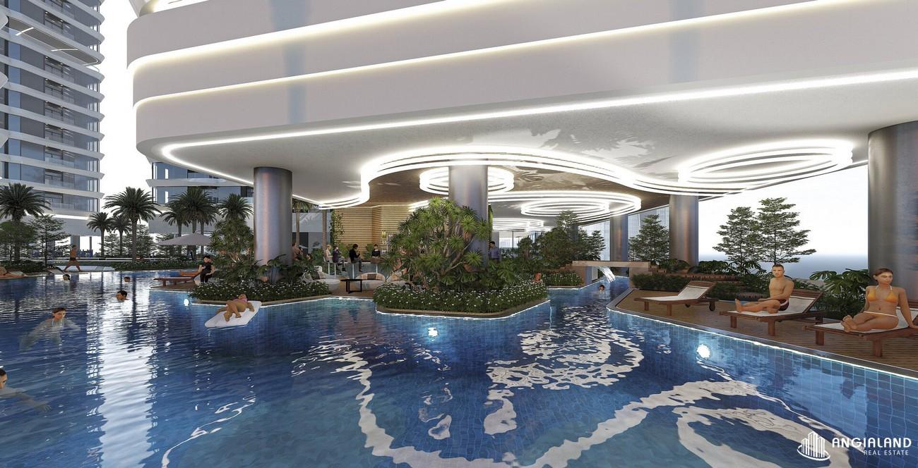 Tiện ích hồ bơi dự án King Crown City Thủ Đức