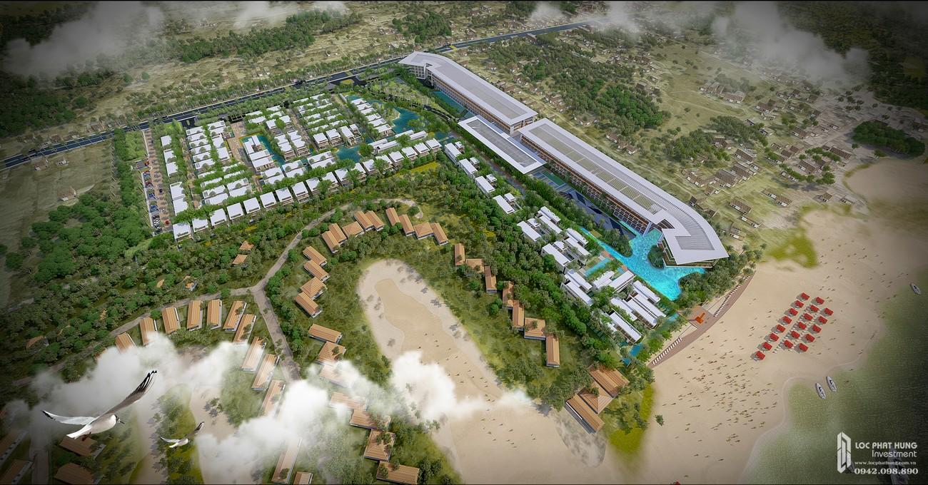 Phối cảnh tổng thể dự án Malibu Hoi An của Bamboo Capital