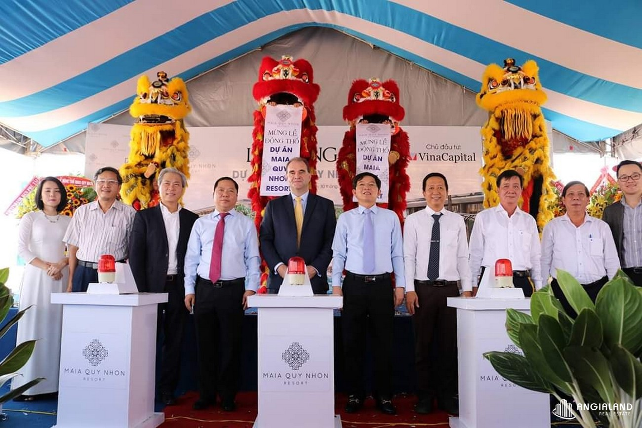 Chủ đầu tư dự án biệt thự nghỉ dưỡng chung cư Maia Resort Quy Nhơn huyen phu cat Đường Quốc Lộ 1D chủ đầu tư VinaCapital
