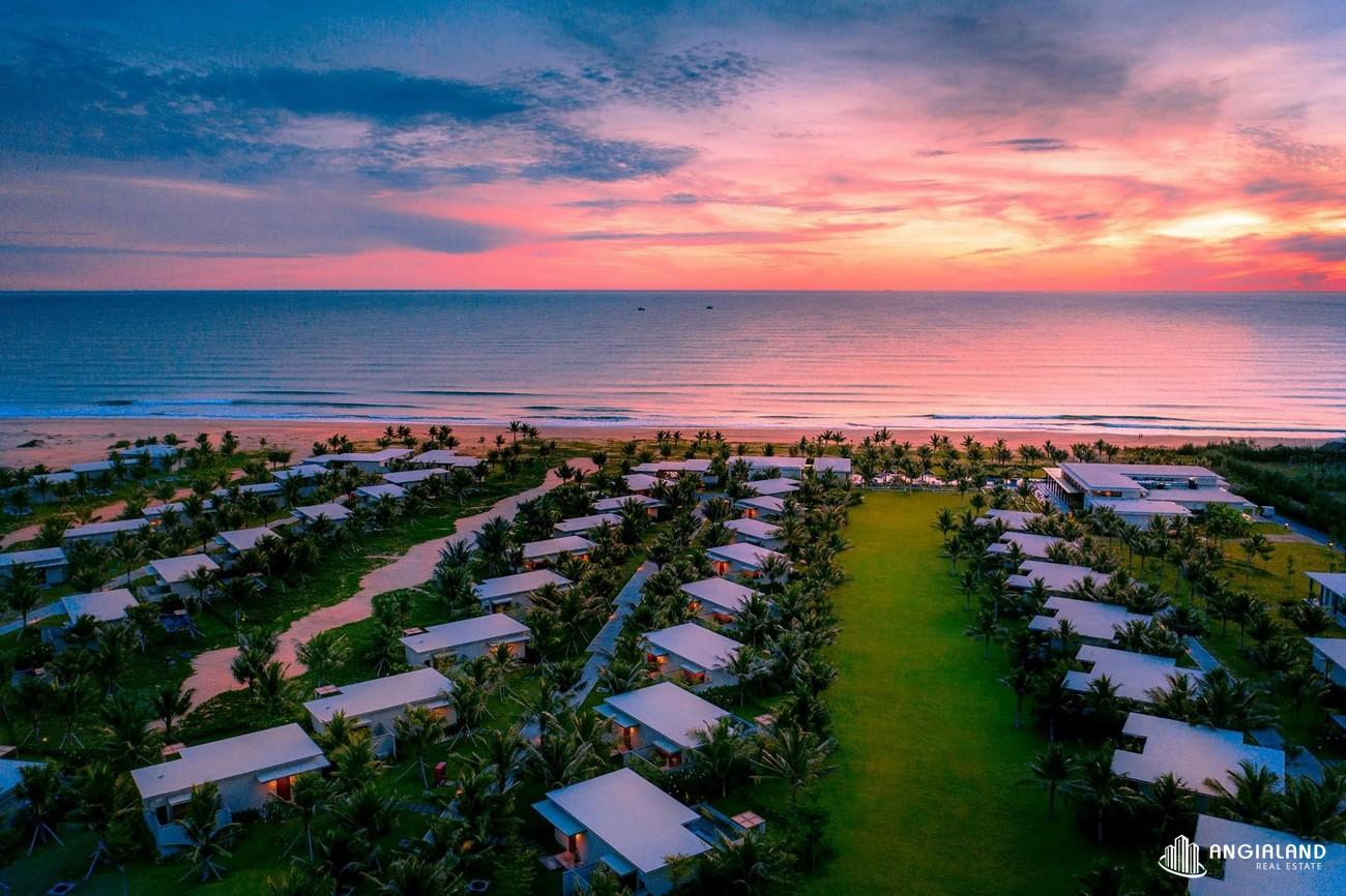 Phối cảnh tổng thể dự án biệt thự nghỉ dưỡng chung cư Maia Resort Quy Nhơn huyen phu cat Đường Quốc Lộ 1D chủ đầu tư VinaCapital