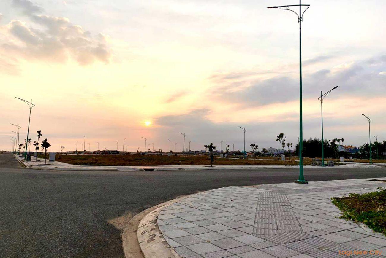 Tiến độ xây dựng tháng 08/2021 tại Lagi New City