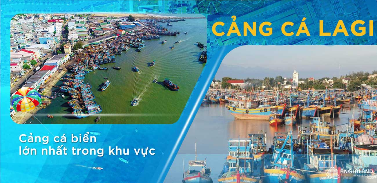 Cảng cá kết nối với dự án đất nền Lagi New City Bình Thuận