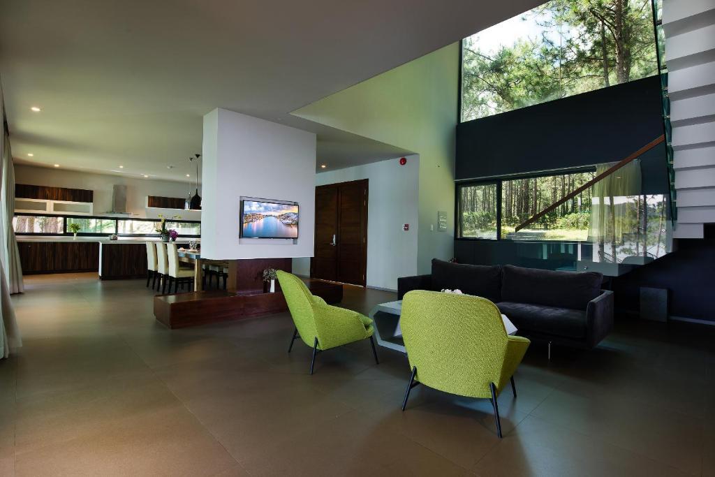 Hạng phòng biệt thự 4PN Resort Terracotta Hotel & Resort Dalat Phường 3 Đường 19 Hoa Hồng