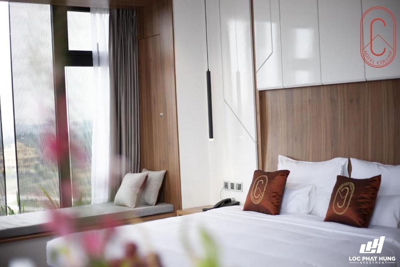 Hạng phòng deluxe Hotel Colline Đà Lạt Phường 2 Đường 10 Phan Bội Châu