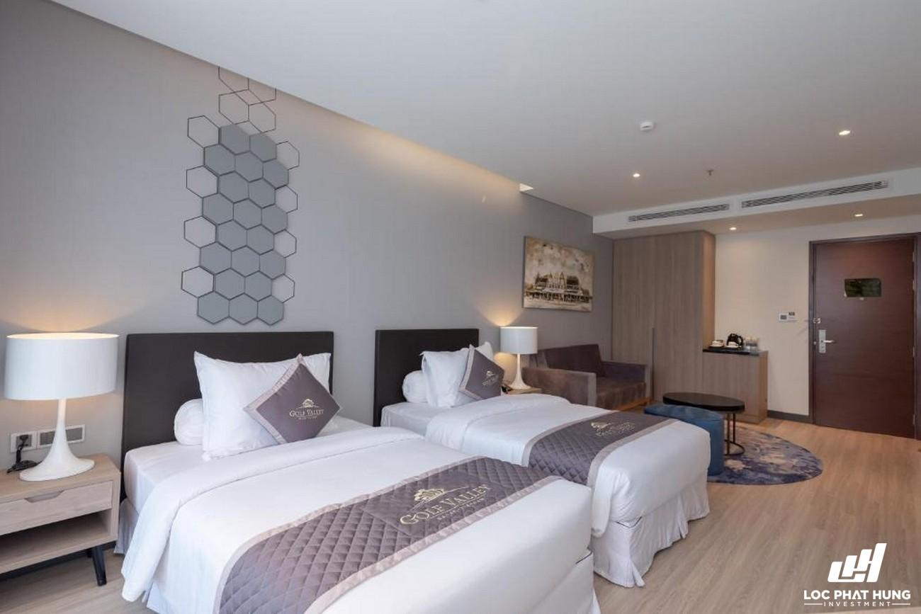 Hạng phòng Deluxe Hotel Golf Valley Phường 2 Đường 94 Bùi Thị Xuân