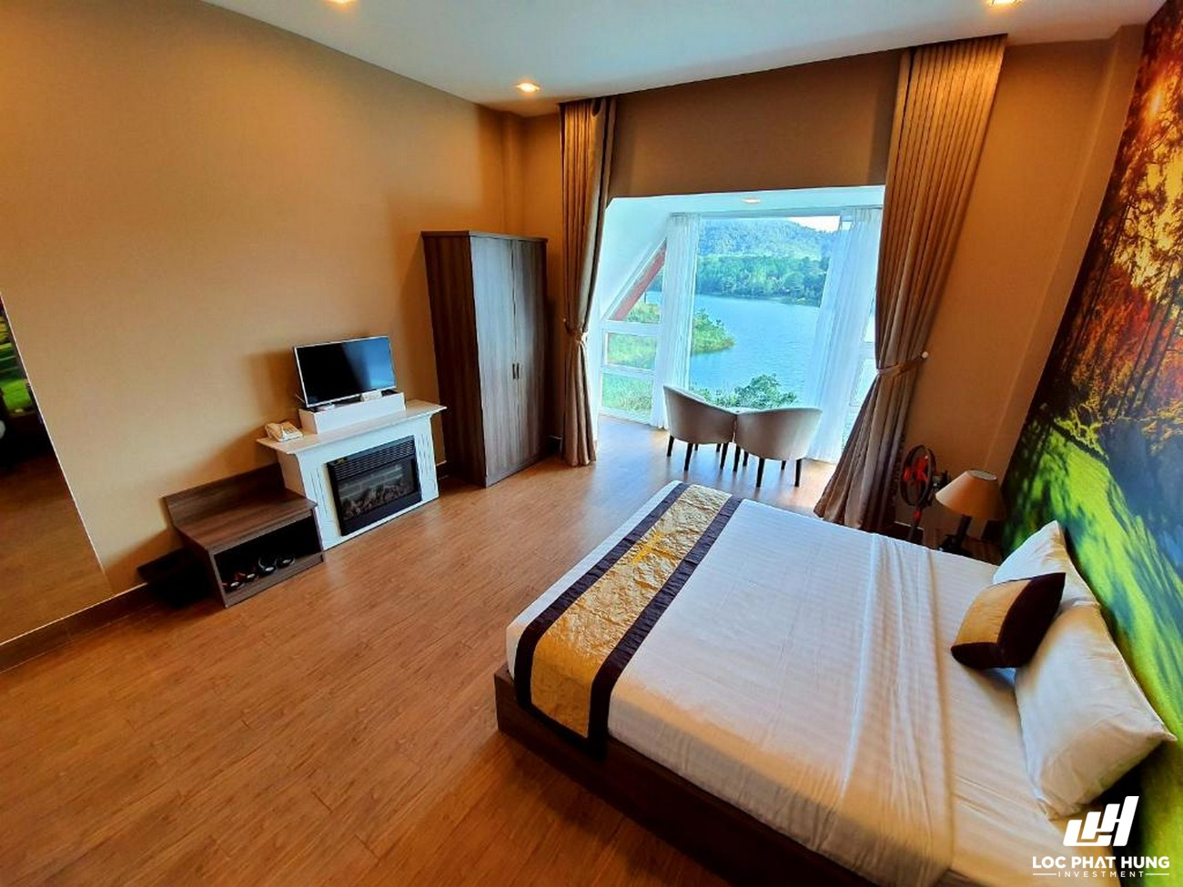 Hạng phòng Deluxe Resort Dalat Wonder Resort Phường 4 Đường 19 Hoa Hồng