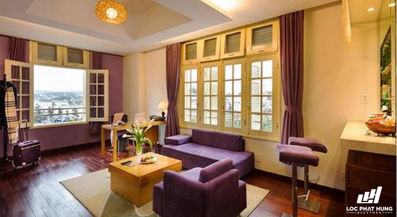 Hạng phòng president suite TTC Ngọc Lan Đà Lạt Phường 1 Đường 42 Nguyễn Chí Thanh TP.Đà Lạt