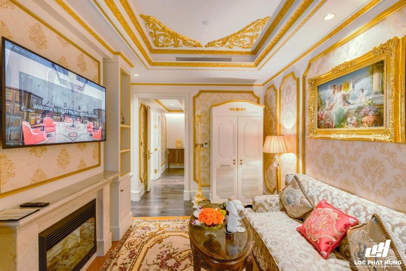 Hạng phòng Royal suite Hotel Dalat Palace Heritage Hotel Phường 3 Đường 02 Trần Phú TP.Đà Lạt