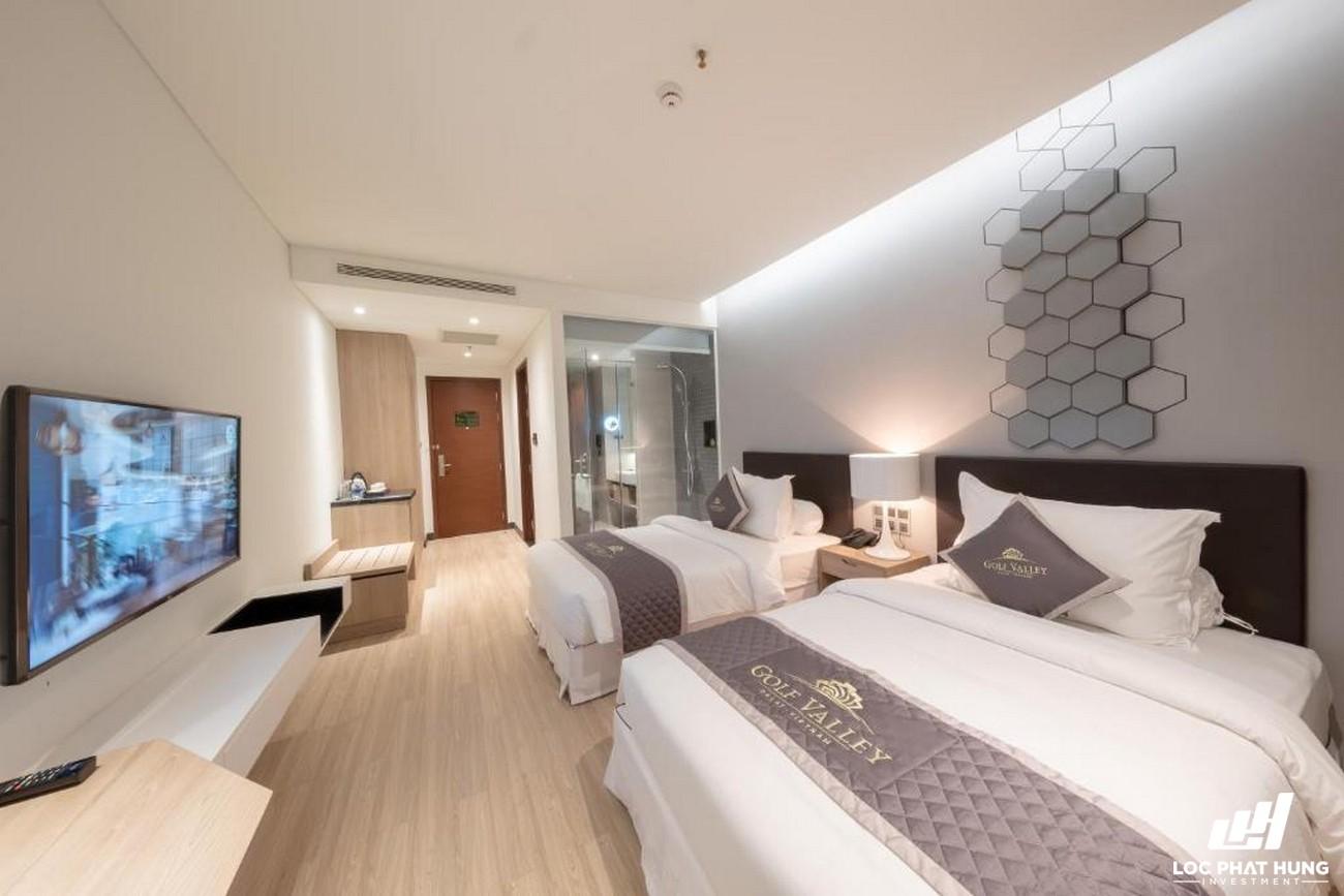 Hạng phòng Superior Hotel Golf Valley Phường 2 Đường 94 Bùi Thị Xuân