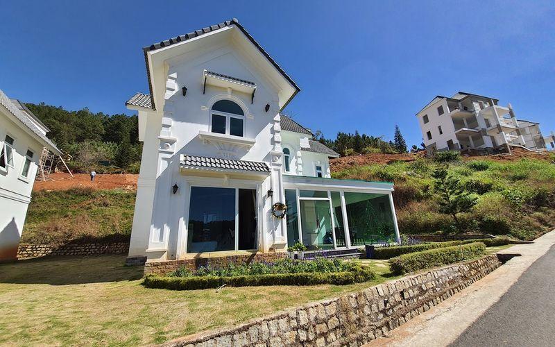 Hạng phòng villa Resort Dalat Wonder Resort Phường 4 Đường 19 Hoa Hồng