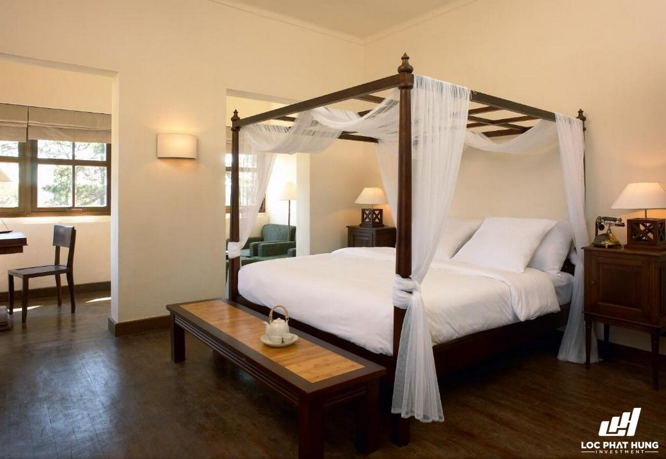 Hạng phòng villa room Resort Ana Mandara Villas Đà Lạt Resort & Spa Phường 5 Đường Lê Lai