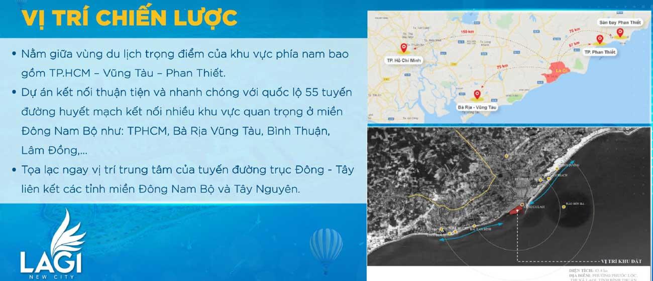 Tâm điểm kết nối dự án đất nền Lagi New City Bình Thuận