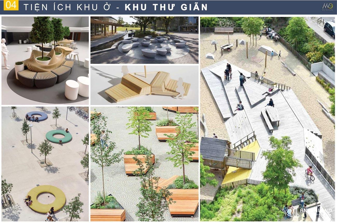 Vườn thư giãn Moonlight Centre Point Hưng Thịnh Quận Bình Tân
