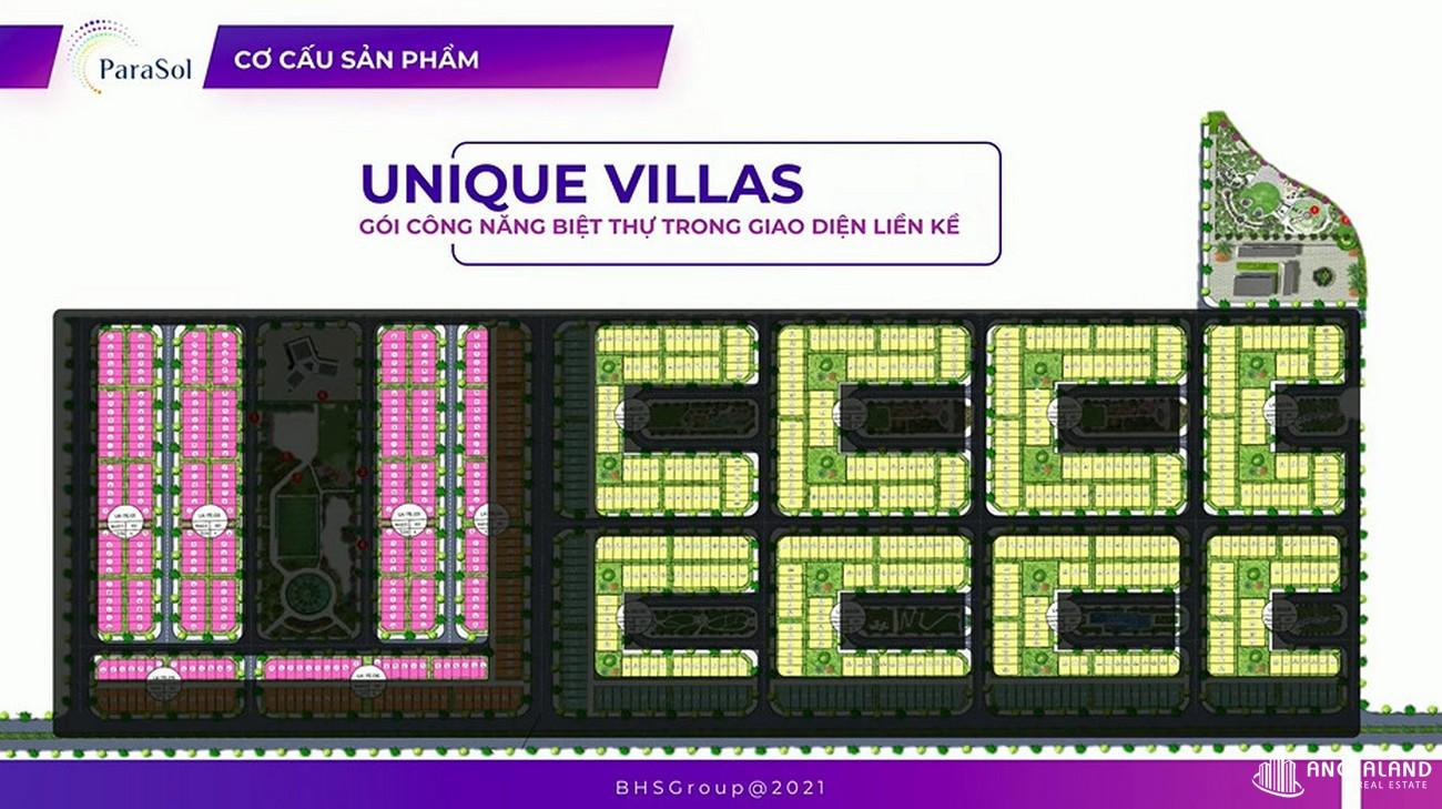 Mặt bằng nhà phố, biệt thự, shophouse, villa, condotel dự án Kn Paradise Cam Ranh Khánh Hòa