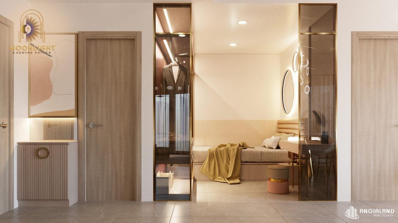 Nhà mẫu loại 1 phòng ngủ 59m2 Moonlight Centre Point Q.Bình Tân
