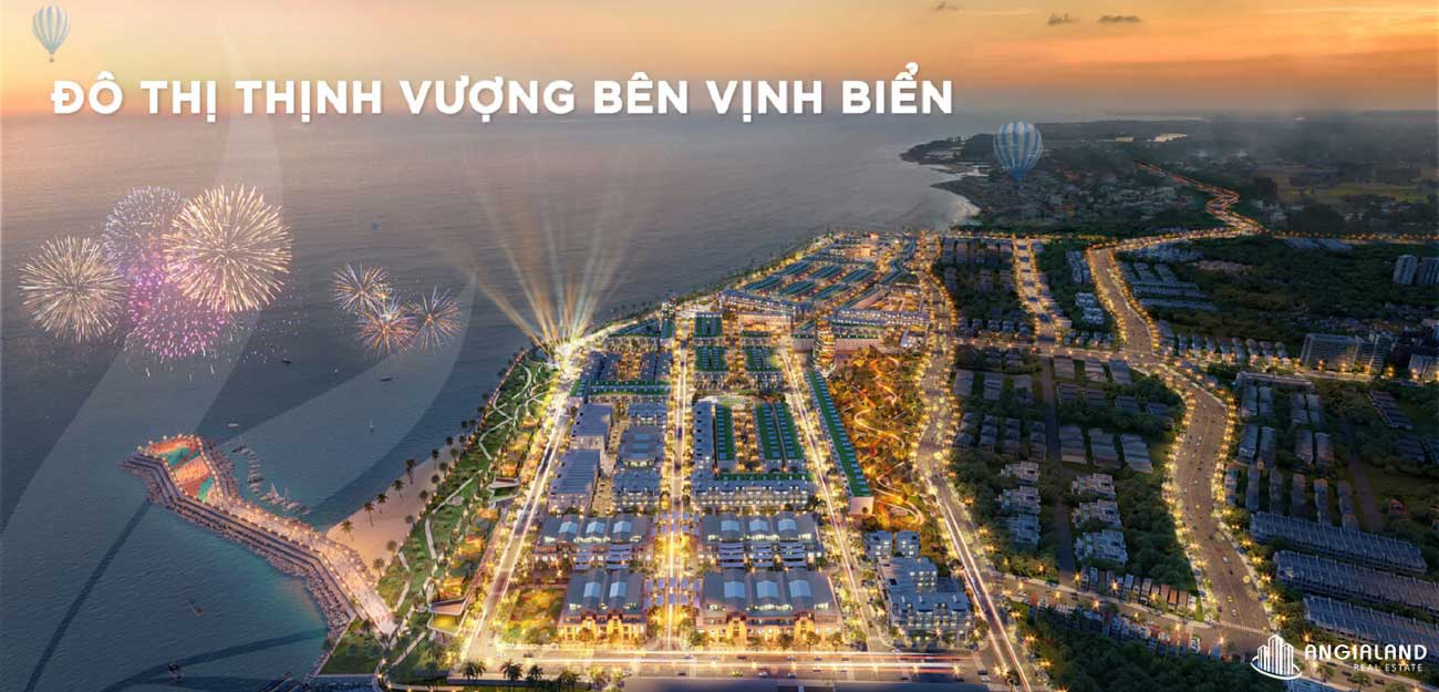 Đô thị bên vịnh biển  Lagi New City Bình Thuận
