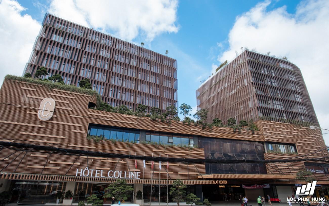Phối cảnh tổng thể Hotel Colline Đà Lạt Phường 2 Đường 10 Phan Bội Châu