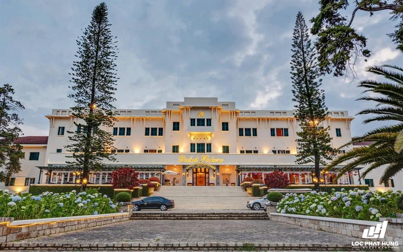 Phối cảnh tổng thể Hotel Dalat Palace Heritage Hotel Phường 3 Đường 02 Trần Phú