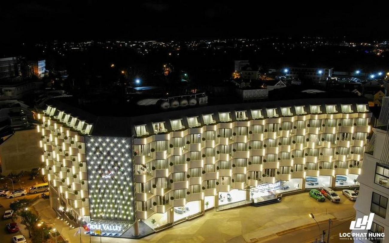 Phối cảnh tổng thể Hotel Golf Valley Phường 2 Đường 94 Bùi Thị Xuân