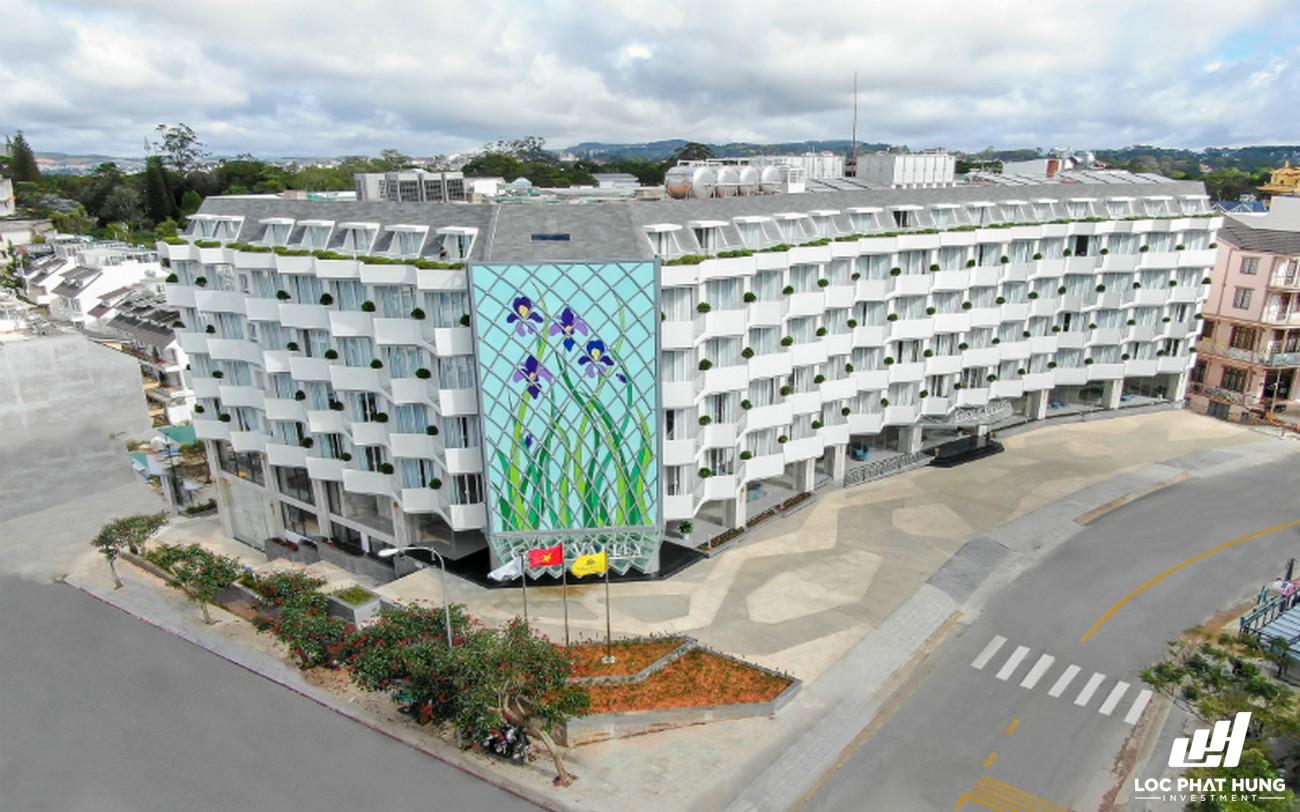 Phối cảnh tổng thể dự án Hotel Golf Valley Phường 2 Đường 94 Bùi Thị Xuân