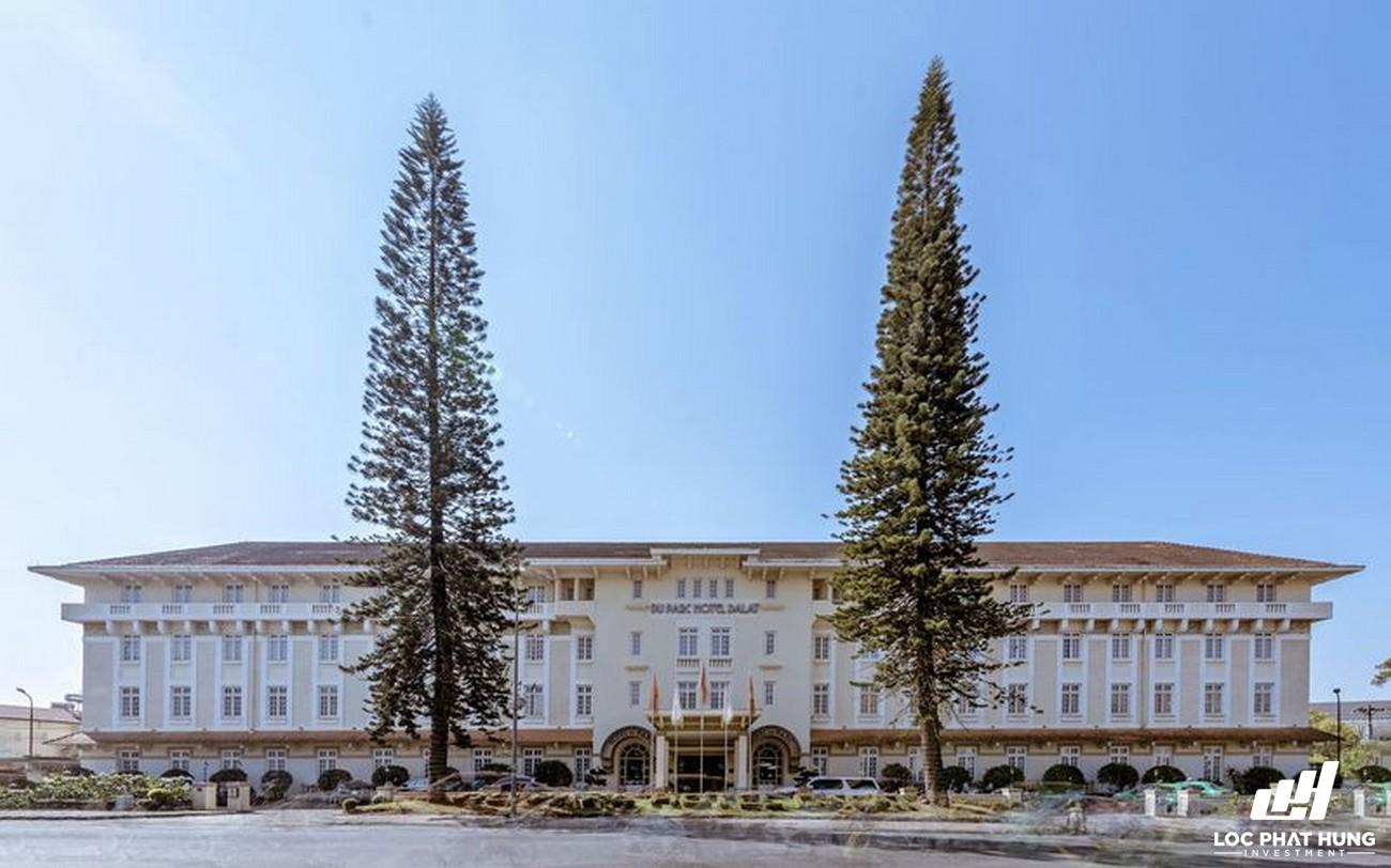 Phối cảnh tổng thể hotel Khách sạna Du Parc Đà Lạt Phường 3 Đường 15 Trần Phú