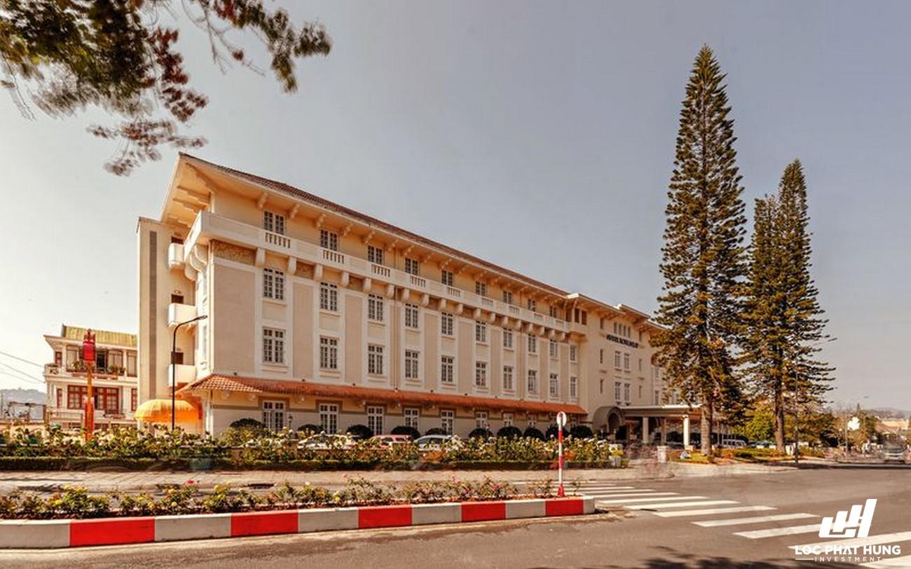 Phối cảnh tổng thể hotel Khách sạn Du Parc Đà Lạt Phường 3 Đường 15 Trần Phú