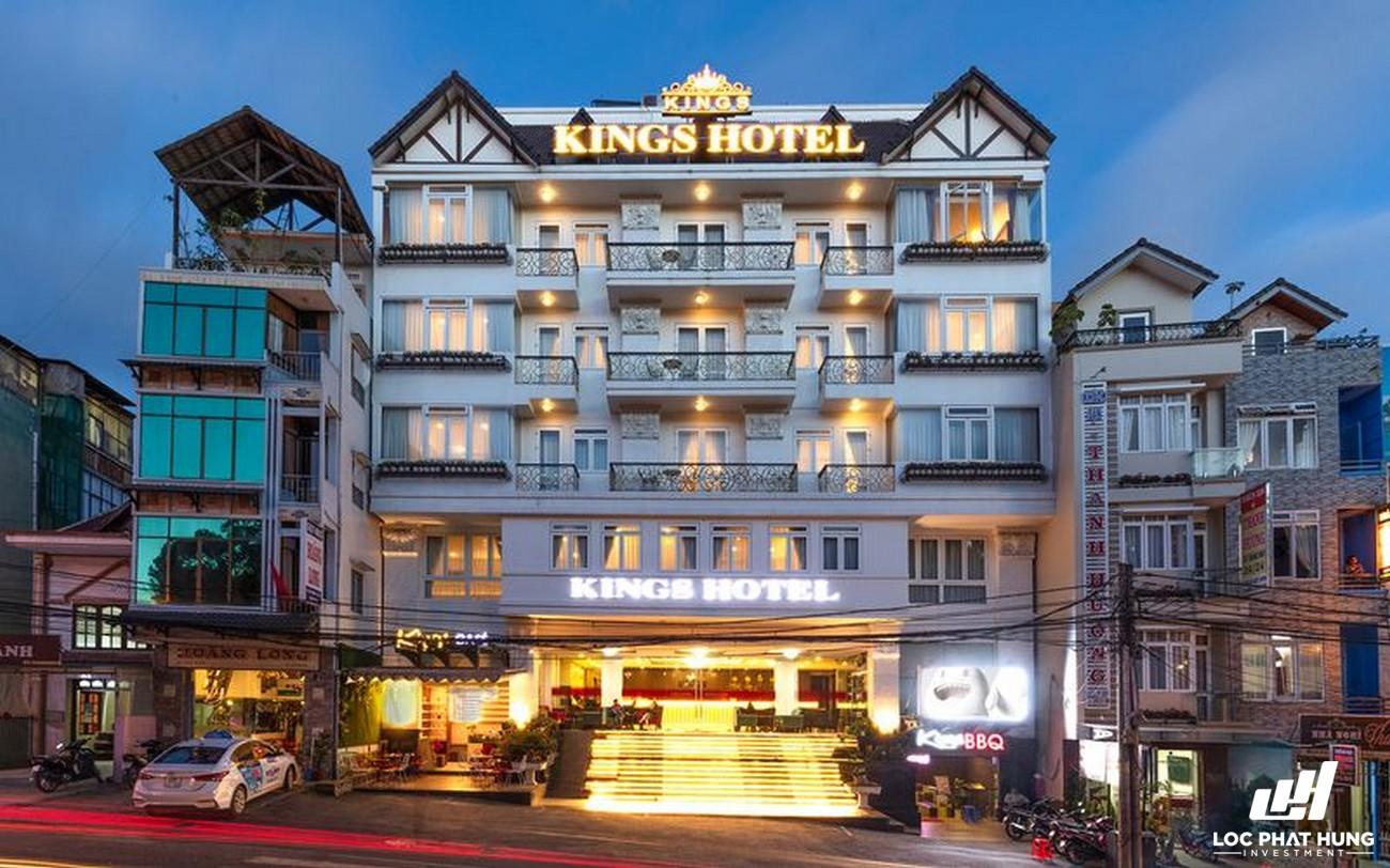 Phối cảnh tổng thể Hotel Kings Hotel Đà Lạt Phường 2 Đường 10 Bùi Thị Xuân
