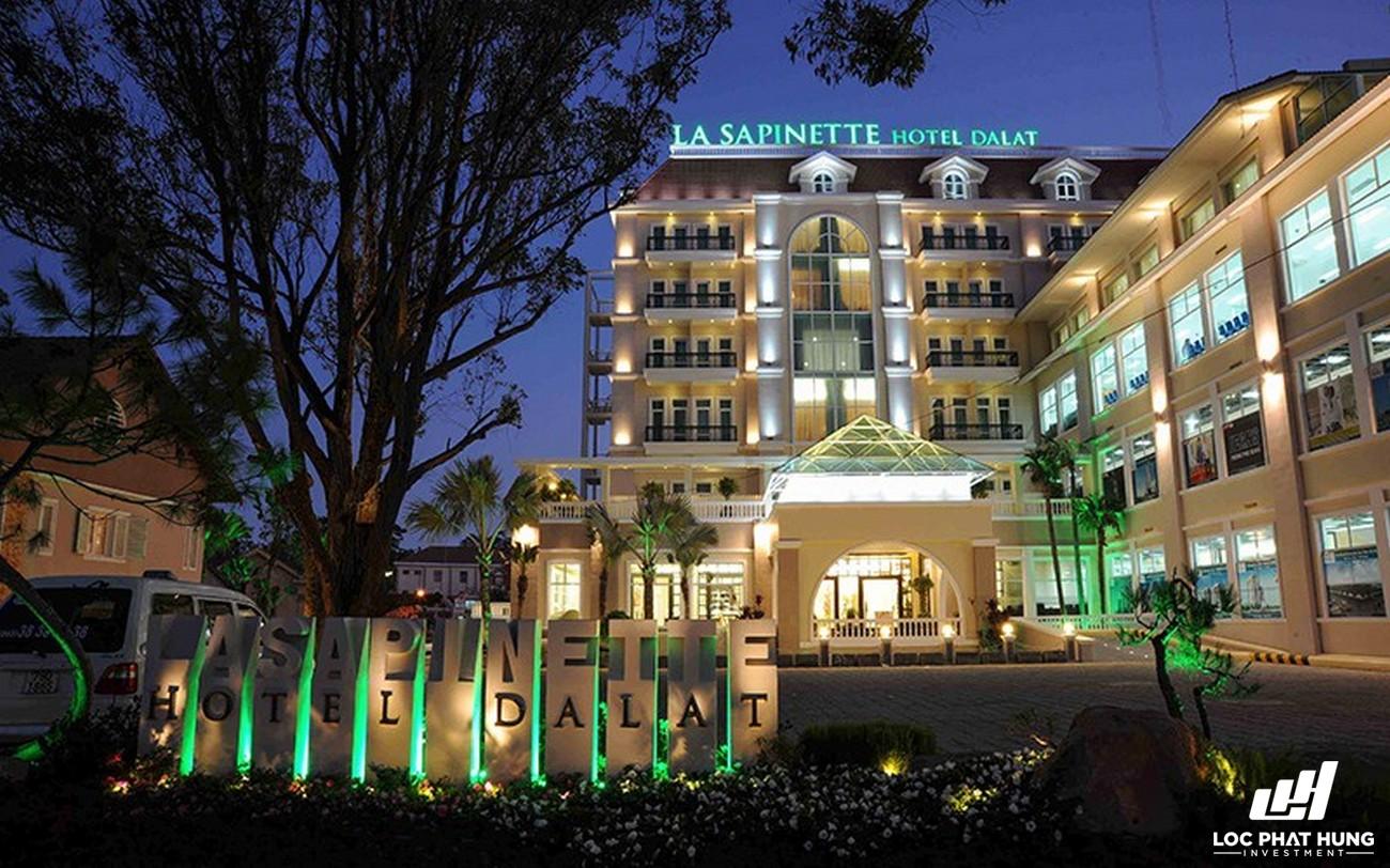 Phối cảnh tổng thể Hotel La Sapinette Đà Lạt Phường 9 Đường 01 Phan Chu Trinh