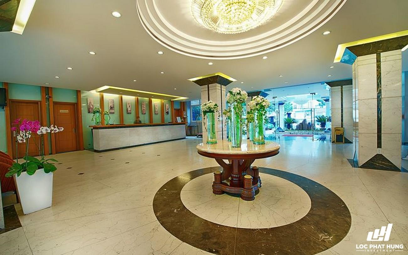 Phối cảnh tổng thể Hotel Mường Thanh Đà Lạt Phường 1 Đường 42 Phan Bội CHâu