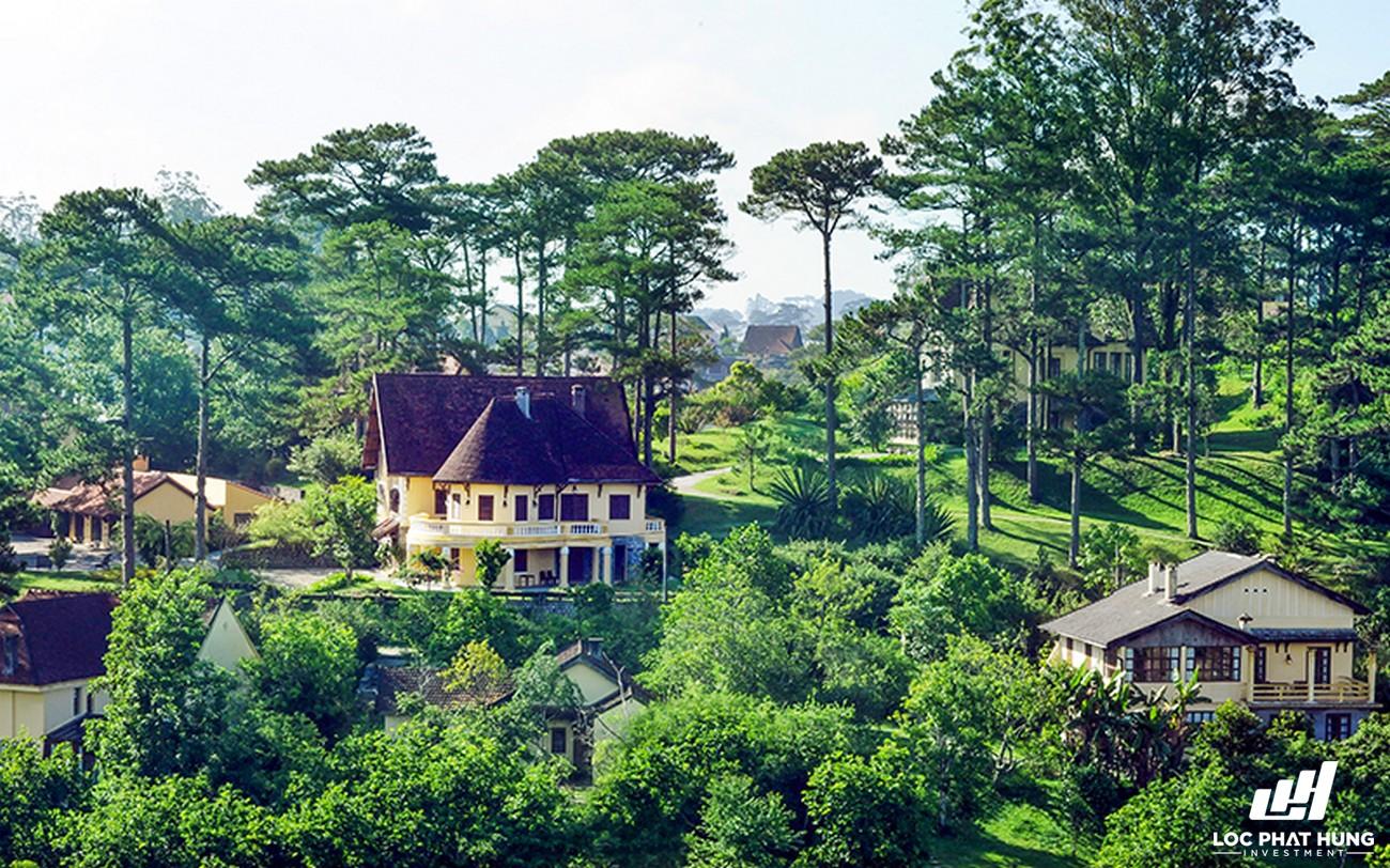 Phối cảnh tổng thể Resort Ana Mandara Villas Da Lat Resort & Spa Phường 5 Đường Lê Lai