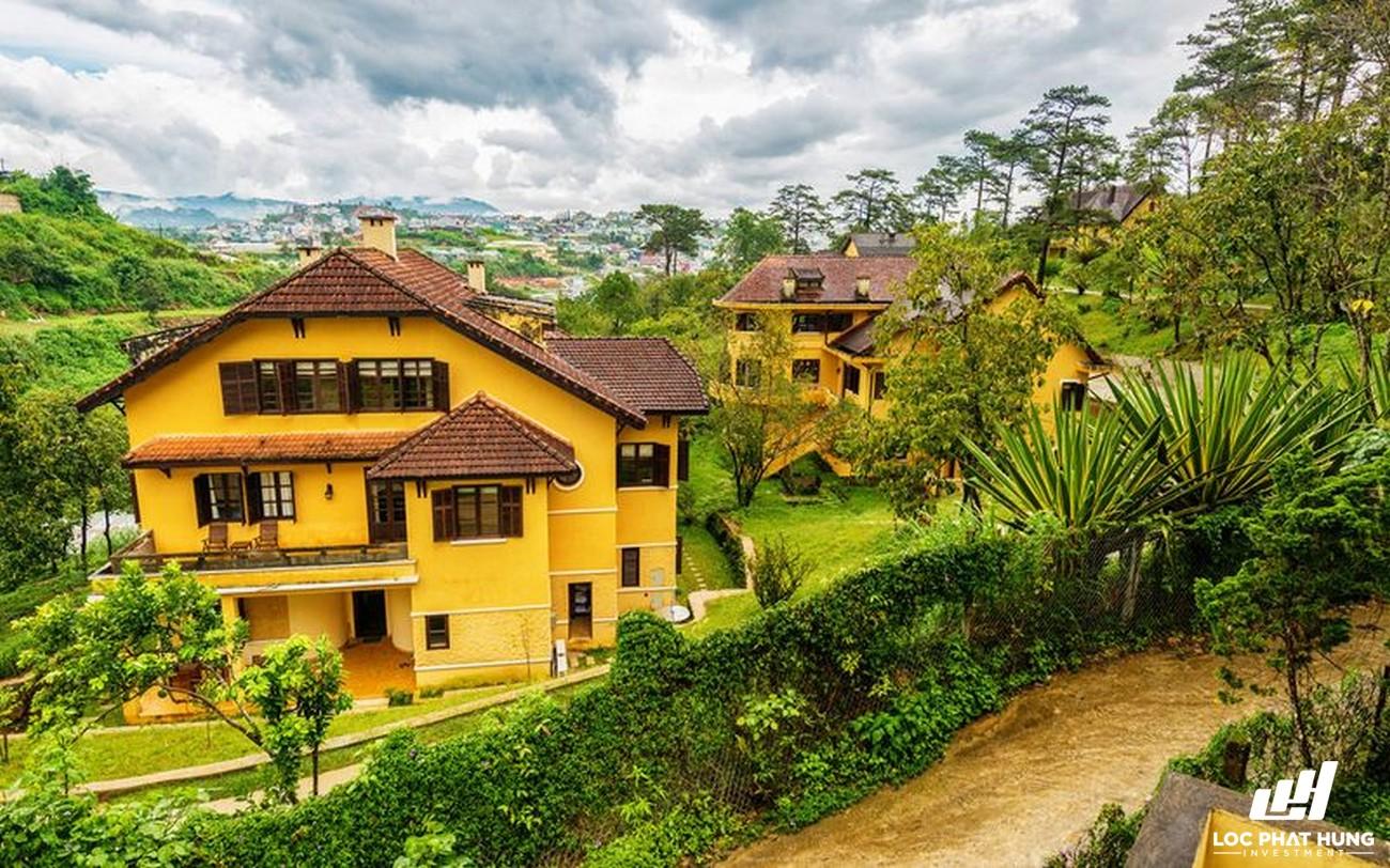 Phối cảnh tổng thể Resort Ana Mandara Villas Da Lat Resort Spa Phường 5 Đường Lê Lai