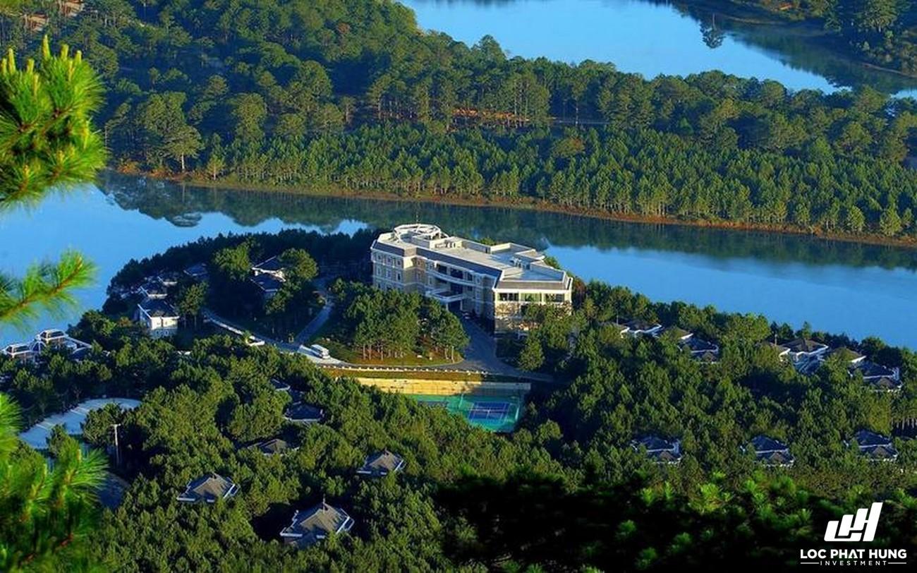 Phối cảnh tổng thể Resort Dalat Edensee Lake Resort & Spa Phường 4 Đường hồ Tuyền Lâm
