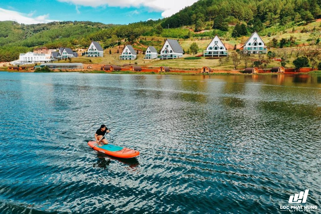 Phối cảnh tổng thể Resort Dalat Wonder Resort Phường 4 Đường 19 Hoa Hồng