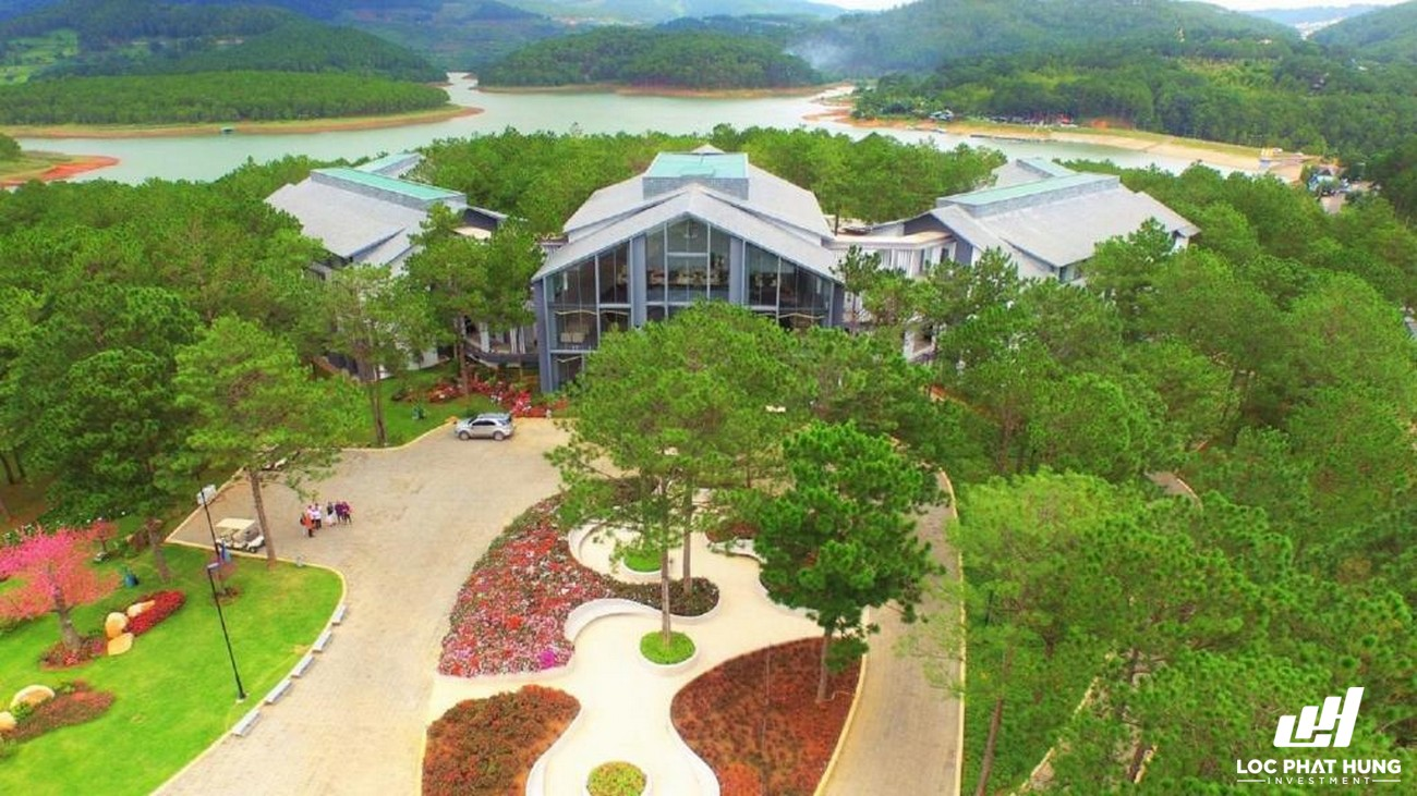 Phối cảnh tổng thể Resort Terracotta Hotel & Resort Dalat Phường 3 Đường 19 Hoa Hồng