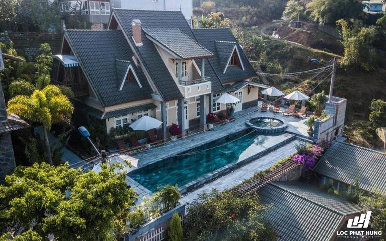 Phối cảnh tổng thể Resort Zen Valley Đà Lạt Phường 10 Đường 38 Khe Sanh