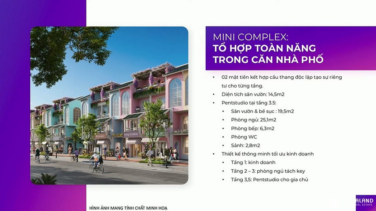 Thiết kế nhà phố, biệt thự, shophouse, villa, condotel dự án Kn Paradise Cam Ranh Khánh Hòa