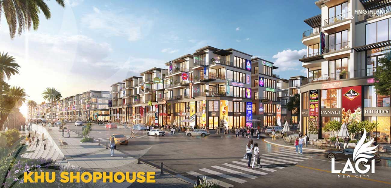 Thiết kế Shophouse dự án đất nền Lagi New City Bình Thuận